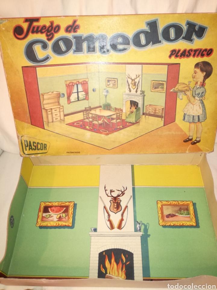 Casas de Muñecas: Comedor con Cocina,Dormitorio y Muñecas Pascor años 50 - Foto 5 - 98506971