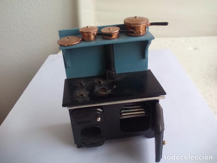 Cocina hornilla de carb n o le a con horno d comprar - Cocinas con horno de lena ...