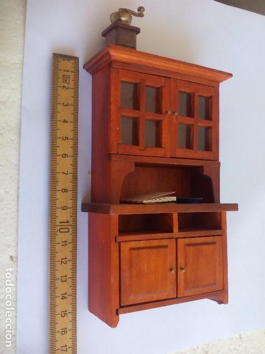 mueble alacena de madera para cocina con molini - Comprar Casas de ...