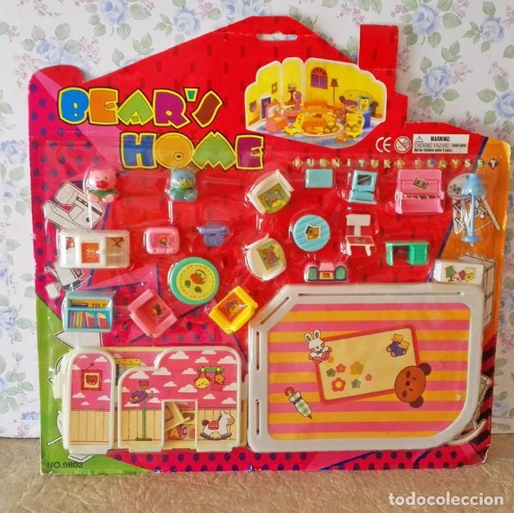 blister, mini muebles, casita osos, ositos, cas - Comprar Casas de ...