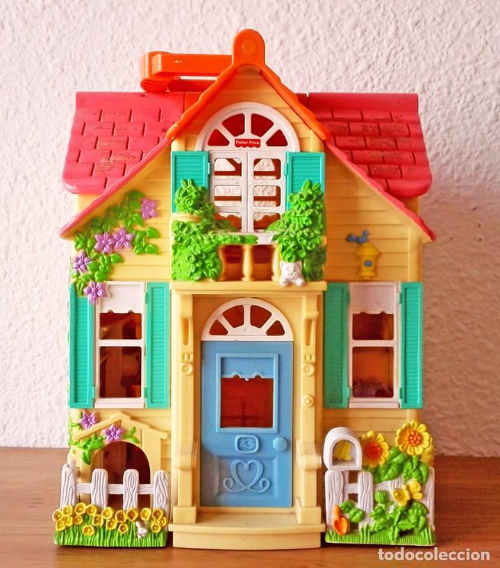 Casa mu ecas fisherprice mattel playmobil sylva comprar casas de mu ecas mobiliarios y - Gran casa de munecas playmobil ...