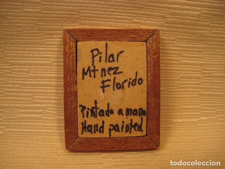 cuadro miniatura pintado al óleo nº 8. casas de - Comprar Casas de ...
