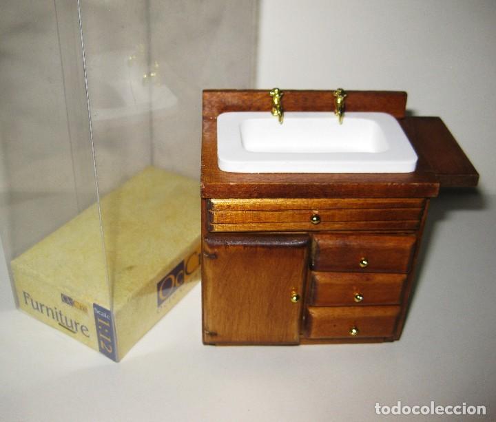Mueble cuarto de baño casa de muñecas escala 1: - Verkauft durch ...