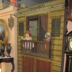 Casas de Muñecas: ESPECTACULAR CASA DE MUÑECAS TAMAÑO NATURAL PINTADA A MANO - SÓLO RECOGIDA VALENCIA -. Lote 105316611