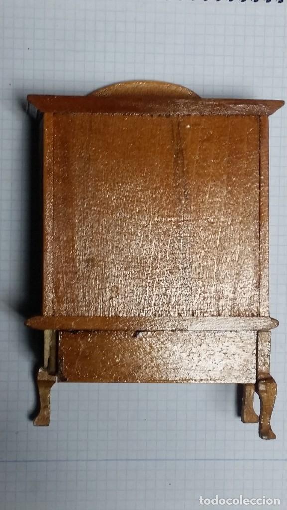Casas de Muñecas: mueble comedor madera miniatura - Foto 3 - 105807659