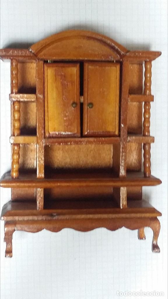 Casas de Muñecas: mueble comedor madera miniatura - Foto 3 - 105807815