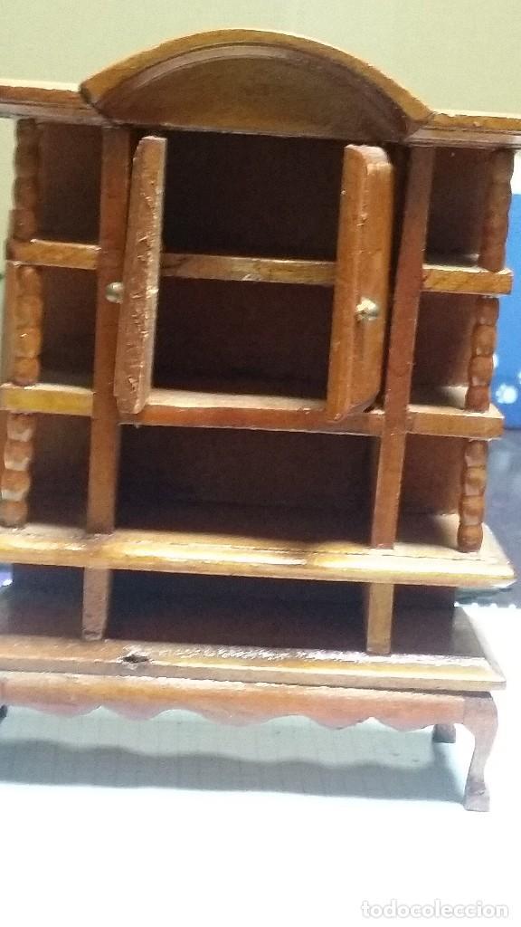 Casas de Muñecas: mueble comedor madera miniatura - Foto 4 - 105807815