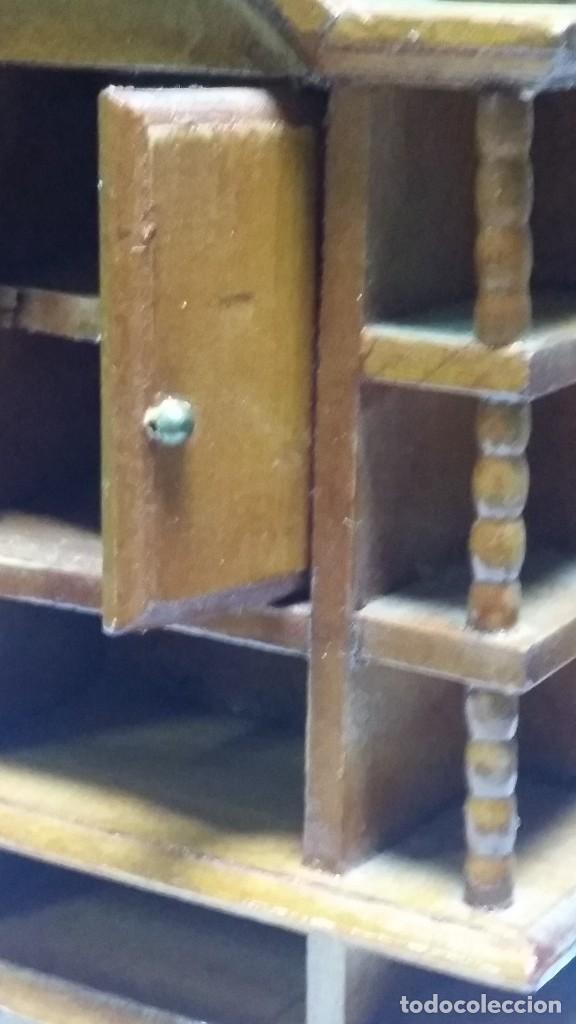 Casas de Muñecas: mueble comedor madera miniatura - Foto 6 - 105807815