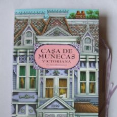 Casas de Muñecas: CASA DE MUÑECAS VICTORIANA PLEGABLE TRIDIMENSIONAL FABRICADA EN ESPAÑA POR MONTENA. Lote 105816387