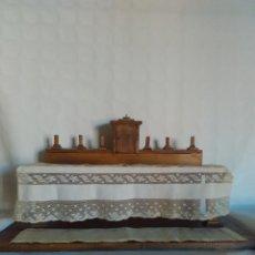 Casas de Muñecas: ANTIGUO ALTAR DE FINALES SXIX O PRINCIPIOS DEL SIGLO XX. Lote 107384631