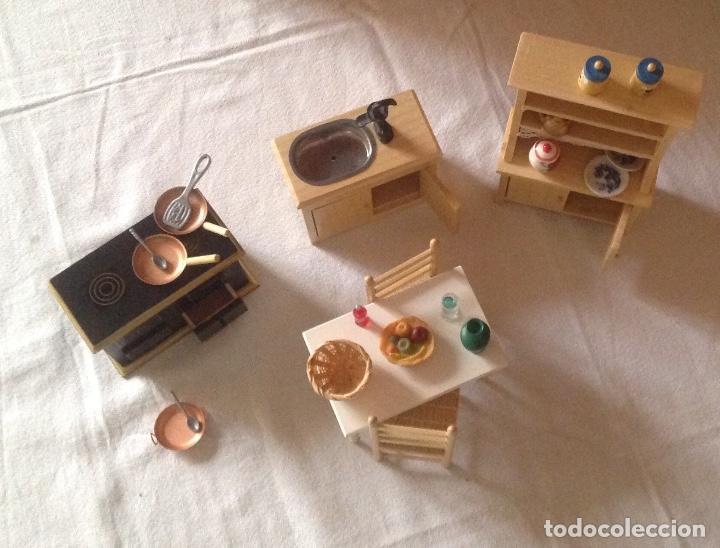 Accesorios De Cocina Casa De Muñecas En Miniatura