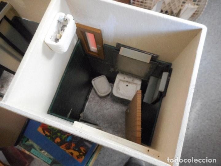 curioso baño casita de muñeca antiguo - Comprar Casas de ...