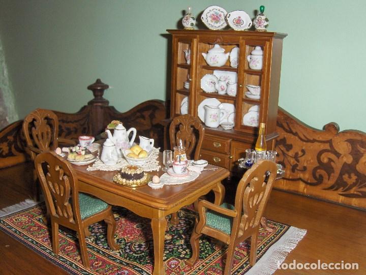 casa de muñecas muebles comedor - Comprar Casas de Muñecas ...