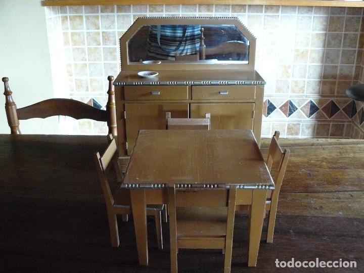 precioso conjunto- muebles de comedor de madera - Comprar Casas de ...