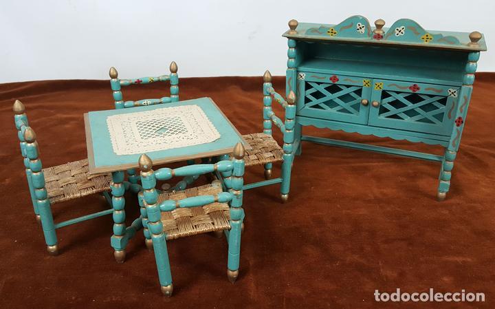 muebles de cocina para casa de muñecas. madera - Kaufen Puppenhäuser ...