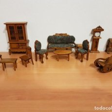 Casas de Muñecas: ANTIGUO MOBILIARIO DE CASITAS DE MUÑECAS. Lote 112743095