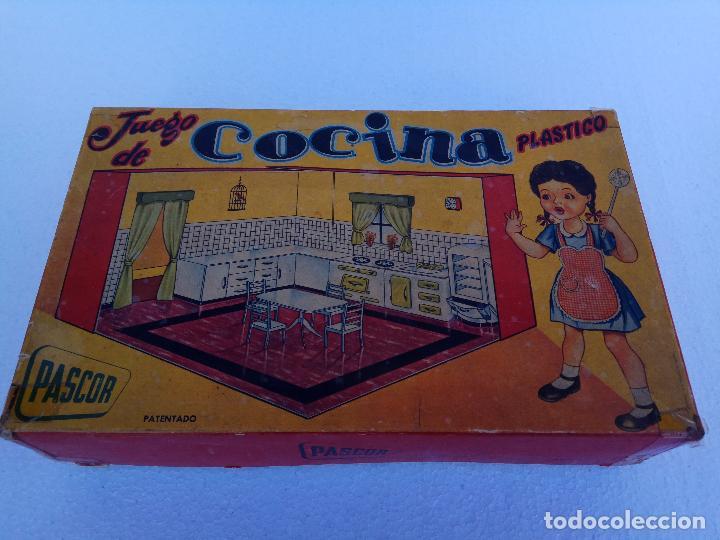 JUEGO DE COCINA PLASTICO - PASCOR (Juguetes - Casas de Muñecas, mobiliarios y complementos)