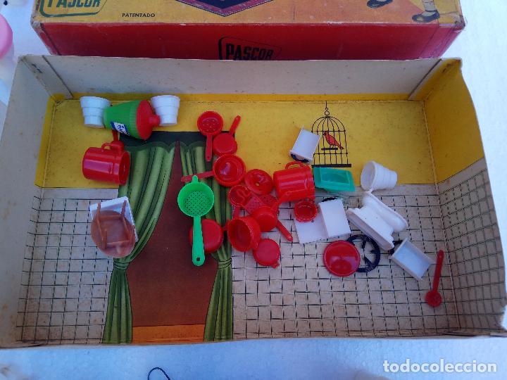Casas de Muñecas: JUEGO DE COCINA PLASTICO - PASCOR - Foto 3 - 112863259