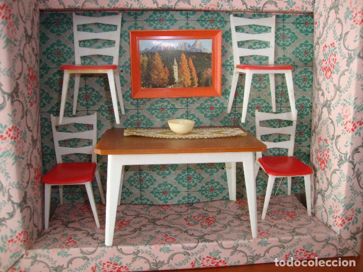 tc-118) comedor casa muñecas de jemsa muebline - Kaufen Puppenhäuser ...