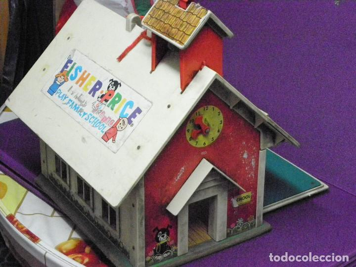 Casas de Muñecas: Escuela Fisher Price Play Family School. Casita para muñecas. Casa. - Foto 1 - 117196463