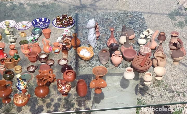 Casas de Muñecas: EXCEPCIONAL COLECCIÓN CERÁMICA POPULAR MINIATURA + 200 PIEZAS TÍPICAS ESPAÑA - ENVIO GRATIS - Foto 4 - 117676979
