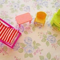 Casas de Muñecas - Lote mini muebles juguete muñecos playmobil pocket casa muñecas - 118056523