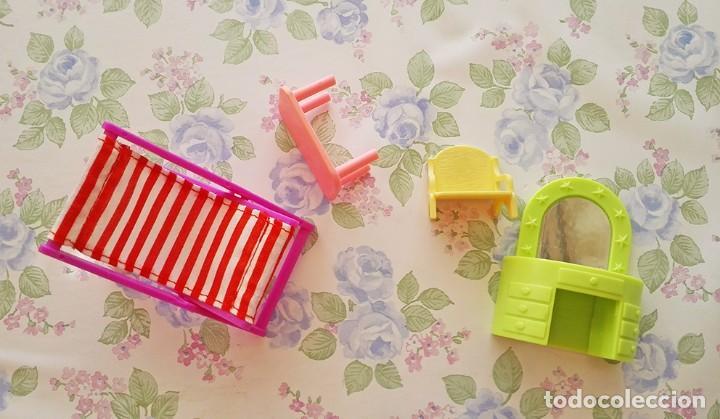 Casas de Muñecas: Lote mini muebles juguete muñecos playmobil pocket casa muñecas - Foto 2 - 118056523