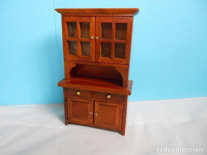 mueble comedor de madera (casa de muñecas) ver - Comprar Casas de ...