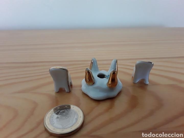 Casas de Muñecas: Mesa y dos sillas porcelana casa muñecas - Foto 2 - 121261839