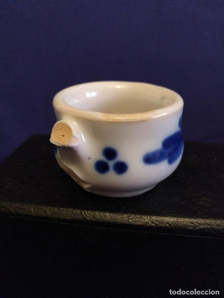 Casas de Muñecas: Juego de cafe miniatura ceramica o porcelana antiguo. - Foto 6 - 122609351