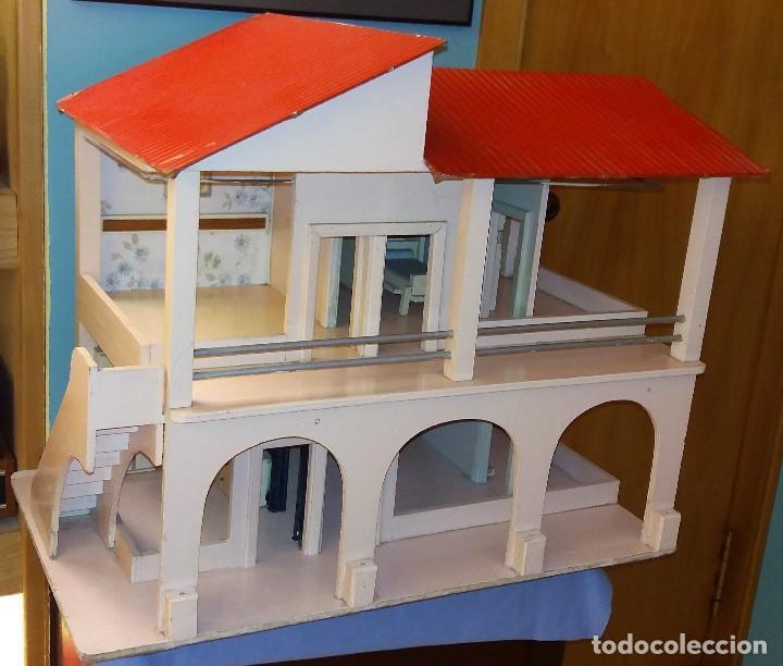 Casa De Muñecas De Madera De Dos Plantas De Den Vendido En Venta Directa 122686483