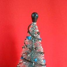 Doll houses - Árbol de Navidad artesanal, estilo gótico en miniatura para casa de muñecas escala 1/12 - 122773283