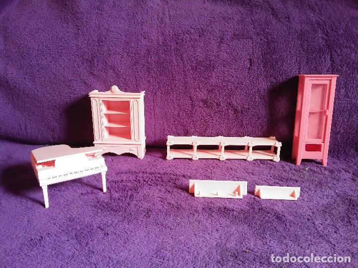 LOTE SALON CASA KITTY - PIANO (Juguetes - Casas de Muñecas, mobiliarios y complementos)