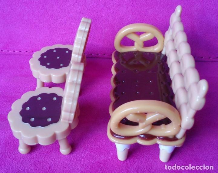 Casas de Muñecas: Sillas galleta miniatura originales Hello Kitty - Foto 2 - 125269899