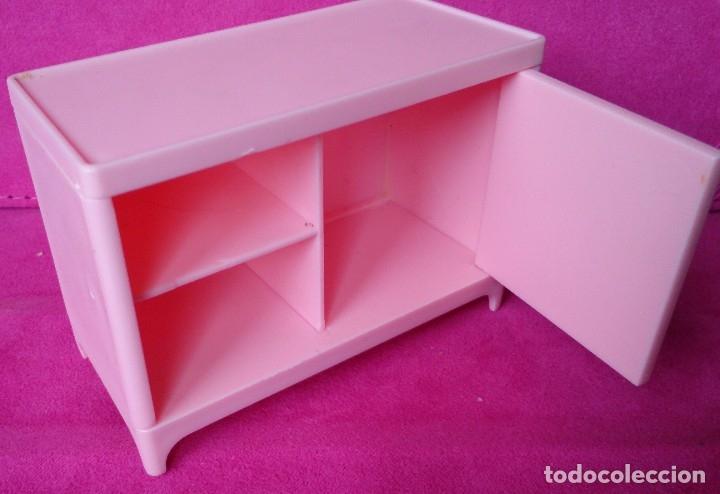 Casas de Muñecas: Pieza mueble original casa de muñecas Hello Kitty, aparador una puerta - Foto 2 - 126000007