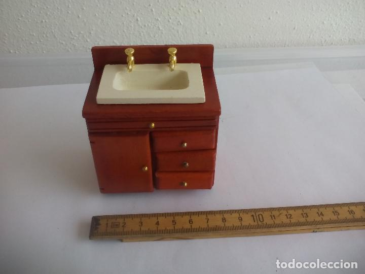 mueble de cuarto de baño con lavabo de madera c - Comprar Casas de ...