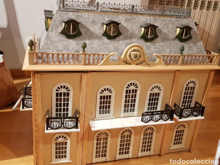 PALACIO DE MUÑECAS.ENORME PALACIO.CON MUCHISIMOS ACCESORIOS.MUY COMPLETA.ORIGINAL. (Spielzeug - Puppenhäuser, Möbel und Accessoires)