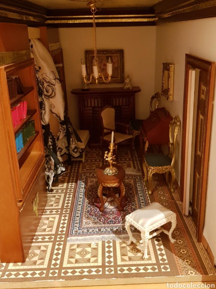 Puppenhäuser: PALACIO DE MUÑECAS.ENORME PALACIO.CON MUCHISIMOS ACCESORIOS.MUY COMPLETA.ORIGINAL. - Foto 4 - 127257508