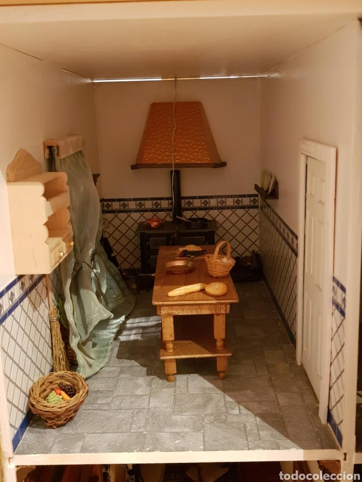 Puppenhäuser: PALACIO DE MUÑECAS.ENORME PALACIO.CON MUCHISIMOS ACCESORIOS.MUY COMPLETA.ORIGINAL. - Foto 5 - 127257508