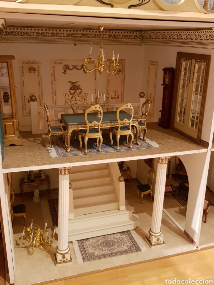 Puppenhäuser: PALACIO DE MUÑECAS.ENORME PALACIO.CON MUCHISIMOS ACCESORIOS.MUY COMPLETA.ORIGINAL. - Foto 6 - 127257508