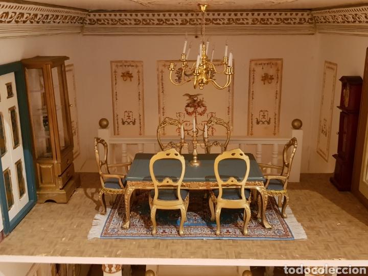 Puppenhäuser: PALACIO DE MUÑECAS.ENORME PALACIO.CON MUCHISIMOS ACCESORIOS.MUY COMPLETA.ORIGINAL. - Foto 8 - 127257508