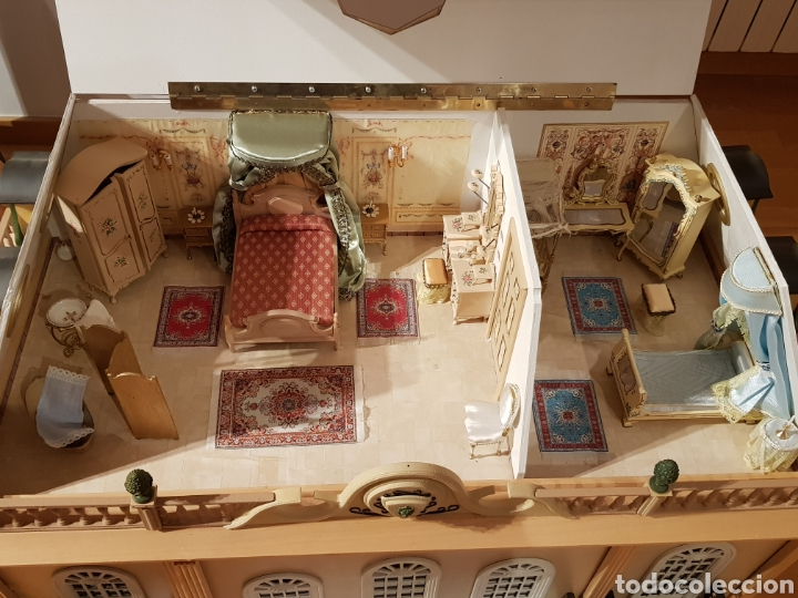Puppenhäuser: PALACIO DE MUÑECAS.ENORME PALACIO.CON MUCHISIMOS ACCESORIOS.MUY COMPLETA.ORIGINAL. - Foto 13 - 127257508