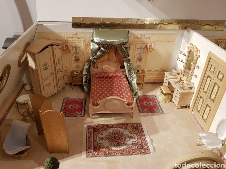 Puppenhäuser: PALACIO DE MUÑECAS.ENORME PALACIO.CON MUCHISIMOS ACCESORIOS.MUY COMPLETA.ORIGINAL. - Foto 14 - 127257508
