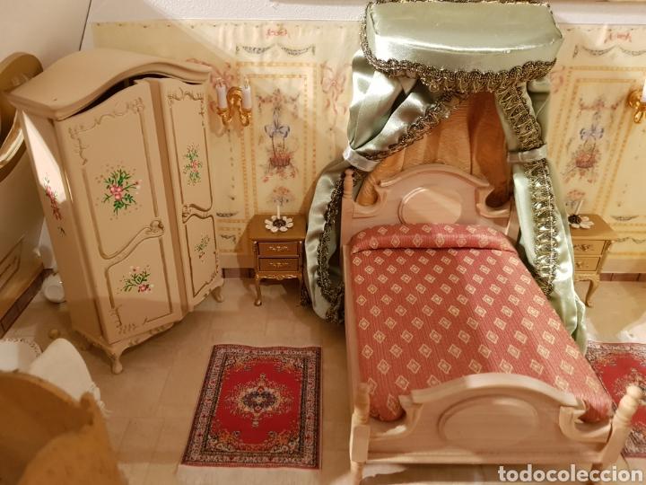 Puppenhäuser: PALACIO DE MUÑECAS.ENORME PALACIO.CON MUCHISIMOS ACCESORIOS.MUY COMPLETA.ORIGINAL. - Foto 15 - 127257508
