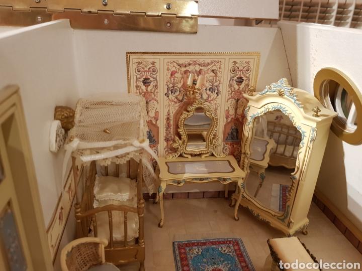 Puppenhäuser: PALACIO DE MUÑECAS.ENORME PALACIO.CON MUCHISIMOS ACCESORIOS.MUY COMPLETA.ORIGINAL. - Foto 17 - 127257508