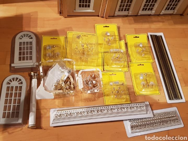 Puppenhäuser: PALACIO DE MUÑECAS.ENORME PALACIO.CON MUCHISIMOS ACCESORIOS.MUY COMPLETA.ORIGINAL. - Foto 20 - 127257508