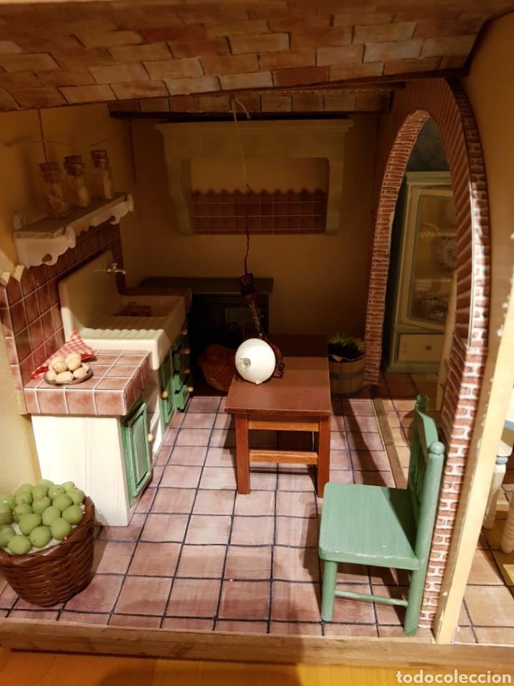 Casas de Muñecas: CASA MEDITERRANEA DE MUÑECAS. ENORME.75X55.CON MUCHISIMOS ACCESORIOS.GRAN ESTADO. - Foto 8 - 127259476