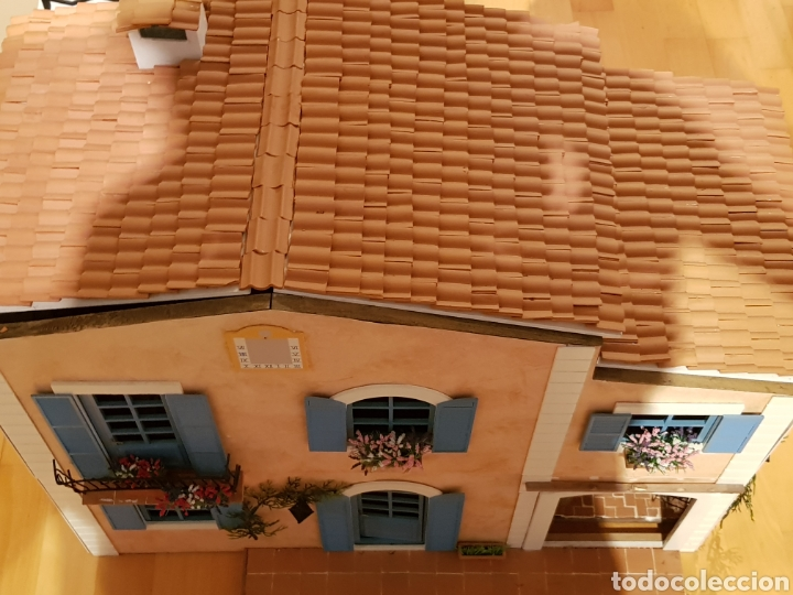 Casas de Muñecas: CASA MEDITERRANEA DE MUÑECAS. ENORME.75X55.CON MUCHISIMOS ACCESORIOS.GRAN ESTADO. - Foto 9 - 127259476