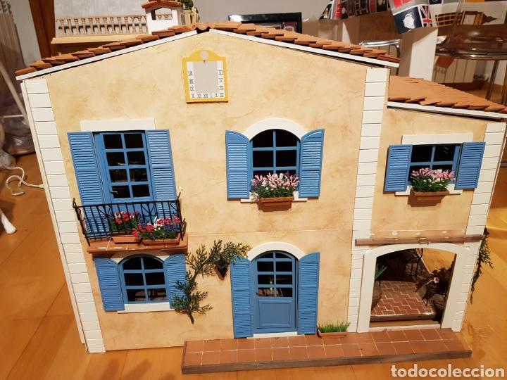 Casas de Muñecas: CASA MEDITERRANEA DE MUÑECAS. ENORME.75X55.CON MUCHISIMOS ACCESORIOS.GRAN ESTADO. - Foto 10 - 127259476