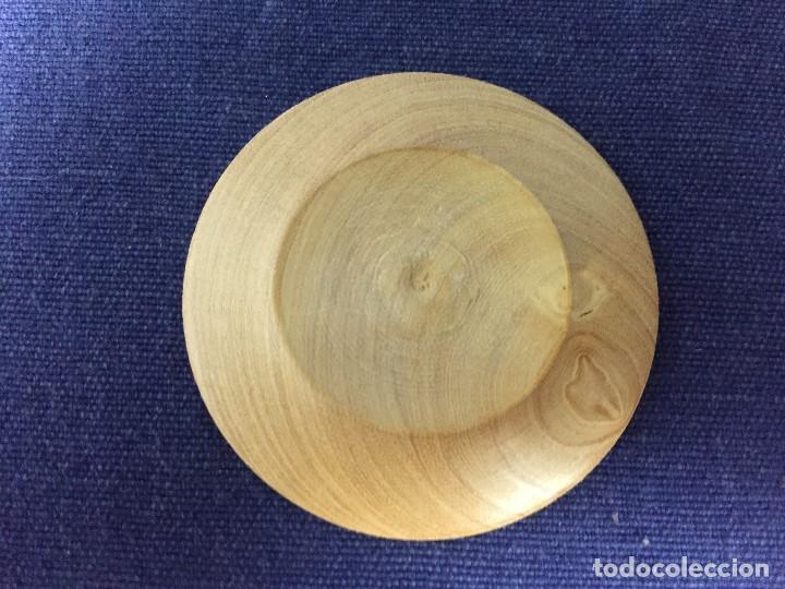 Casas de Muñecas: pequeño conjunto casa de muñecas en madera torneada plato vaso cuenco jarra ppio s XX - Foto 9 - 130171615